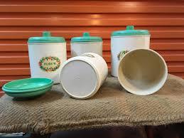 set of 5 vintage 1930 u0027s art deco australian eon bakelite kitchen