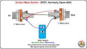 mute switch spst normally open wiring diagram wiring