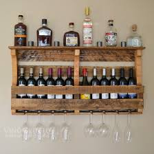 outstanding pallet wine shelf 50 pallet furniture winesburg