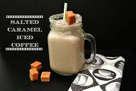 Coffee With Salt Salted Caramel Iced Coffee Recipe Nosh My Way
