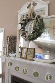spring mantel easter decor ideas for decorating your mantel for
