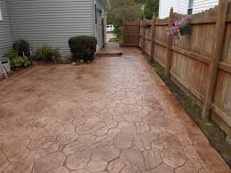 Dyed Concrete Patio patios u0026 walkways gallery real help custom concrete company