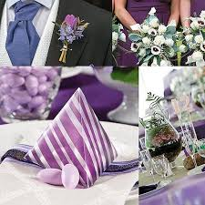 Purple And Silver Wedding Wedding Colors Wedding Shop By Color Wedding Color Trends