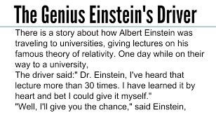 quote einstein everyone is a genius awesome quotes intelligent story the genius einstein u0027s driver