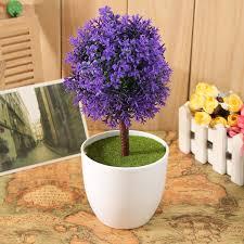 Artificial Trees Home Decor Artificial Topiary Buxus Tree U0026 Ball Plants Pot Garden Home Decor