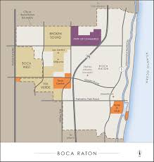 Boca Raton Map Urban Land Institute Maps Mmm Design