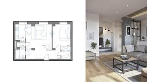small apartment layout home designs curved furniture in small apartment living room 3