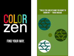 zen color color zen iphone game app review appsafari