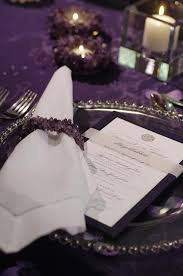 Purple And Silver Wedding 40 Glamorous Dark Purple Wedding Inspirational Ideas Weddingomania