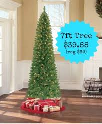 pre lit 7 brinkley pine artificial tree with clear