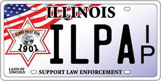 Il Vanity Plates Illinois Police Association Memorial License Plates