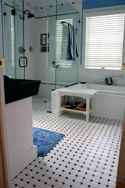 susan glick interiors entrances foyers checkered floor tile
