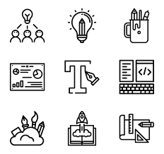 design icons 206 graphic design icon packs vector icon packs svg psd png