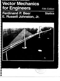 vector mechanics statics f beer u0026 e russel 5th edition