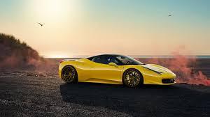 Ferrari 458 Yellow - rendering yellow ferrari 458 italia adv5 2 track spec advanced