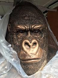 silverback gorilla ornaments best chimpanzee and gorilla image