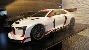 audi quattro concept rally model in paris