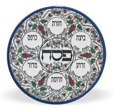 what is on a passover seder plate passover seder plate dish armenian ceramic