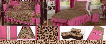 Animal Print Crib Bedding Sets Cheetah Pink Baby And Bedding Sets