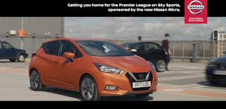 nissan canada tv commercial nissan accelerates premier league fever pitch with new sky sports