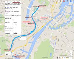 Copenhagen Metro Map by Transportation Gatherings In Biosemiotics 2015