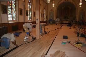 church hardwood floors installation wc floors