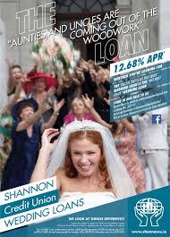 wedding loan wedding loans shannon credit union ltd