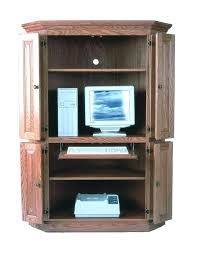 Cherry Computer Armoire Cherry Wood Computer Armoire Tv Armoires Walmart Generis Co