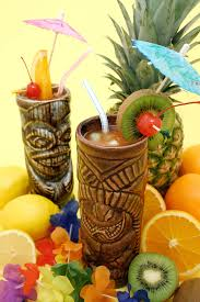 how to host a winter tiki party