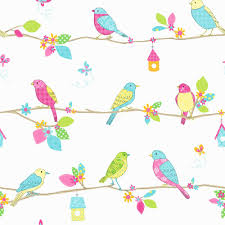 bird print wallpapers group 34