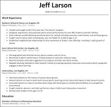 Science Teacher Resume Sample by 28 Dance Instructor Resume Sample Professional Teacher