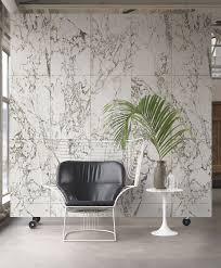 white marble wallpaper design by piet hein eek for nlxl wallpaper