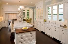 kitchen design ideas white cabinets glass hanging lamp fixtures