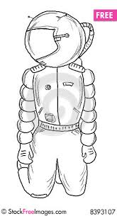 astronaut sketch free stock images u0026 photos 8393107