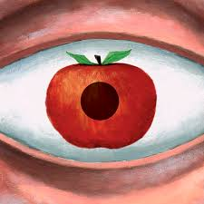 apple of my eye painting by steve dininno