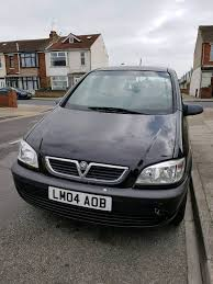 vauxhall zafira manual black 2004 petrol in portsmouth
