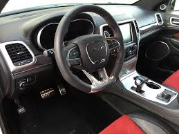 Jeep Grand Cherokee Srt Interior Duke U0027s Drive 2015 Jeep Grand Cherokee Srt 4 4 Review Chris Duke