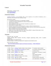 Mac Word Resume Templates Resume Template Examples Templates For Mac Word Efficient With