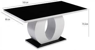 chaise noir et blanc salle a manger noir blanc chaise design noir et blanc la maison