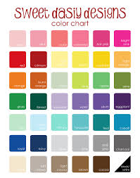 color chart updated playuna
