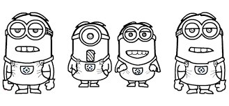 minion coloring sheets bob pages king rabbit page to print out