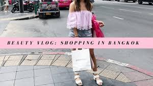Make Up Di Bangkok makeup shopping in bangkok vlog