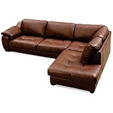 Brown Leather L Shaped Sofa Leather Italia Five Seater L Shaped Sofa 3 1 1 Multicolour