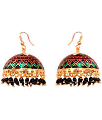 karigari earrings 24 on karigari fashions gold alloy earrings on snapdeal