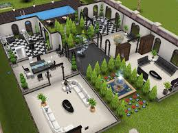 gorgeous 2 story house plans sims freeplay 4 17 best images about
