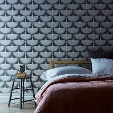 self adhesive wallpaper feather flock on food52