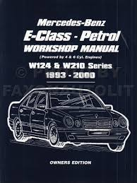 1985 1995 mercedes e class w124 owners workshop manual worldwide