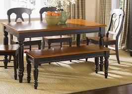 Table With Benches Set Bench Black Kitchen Table With Bench Dining Room Table And Bench