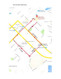 Map A Walking Route by Vancouver Event Map Terry Fox Run Simon Fraser University