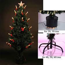 28 3ft pre lit christmas tree led fibre optic christmas